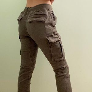 gussetedcrotch #cargo joggers